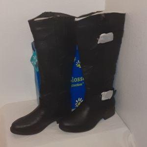 De Blossom Pita-18 Black boots